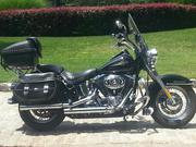 2007 Harley Davidson Heritage Softail Classic in Vivid Black